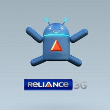 Reliance – Blue Android Bot (Game Animation)