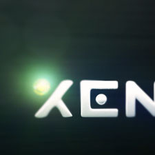 Xenium Interactive Logo Animation